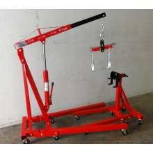 Engine Hoist 2Ton Engine Lifter 2000lbs Inc Engine Stand 2000lbs & Engine Leveller  JL-E03012-SetD